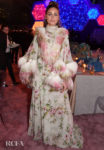 Olivia Palermo Has A Moment With Floral & Feathers At The Fashion Trust Arabia Gala