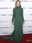Olivia Wilde Goes Green For The LA Premiere of 'A 'Vigilante'