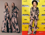 Olivia Wilde In Elie Saab - Film Keynote: 2019 SXSW Conference and Festivals