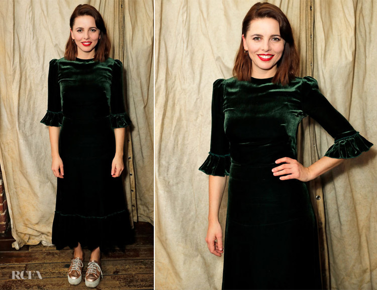 Ophelia Lovibond In The Vampire's Wife -'The Bay At Nice' - Press Night After Party