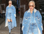 Rita Ora's Denim On Denim On Denim Diesel Outfit