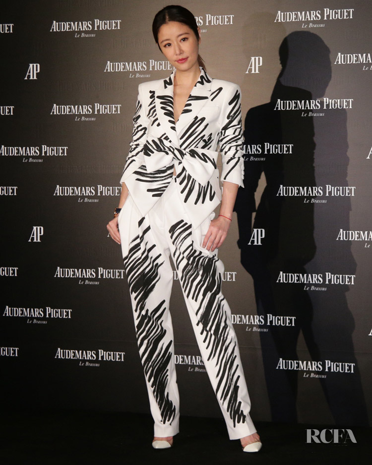 Ruby Lin In Moschino Audemars Piguet