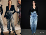 Shailene Woodley In Balmain - Front Row @ Balmain Fall 2019