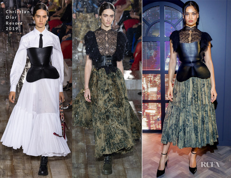Shanina Shaik In Christian Dior - Chadstone AW19 Campaign Launch