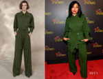 Taraji P. Henson In Alberta Ferretti - 'The Best Of Enemies' Atlanta Screening