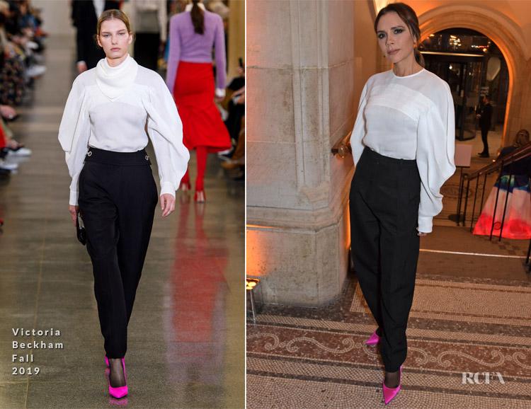 Victoria Beckham In Victoria Beckham - The Portrait Gala 2019