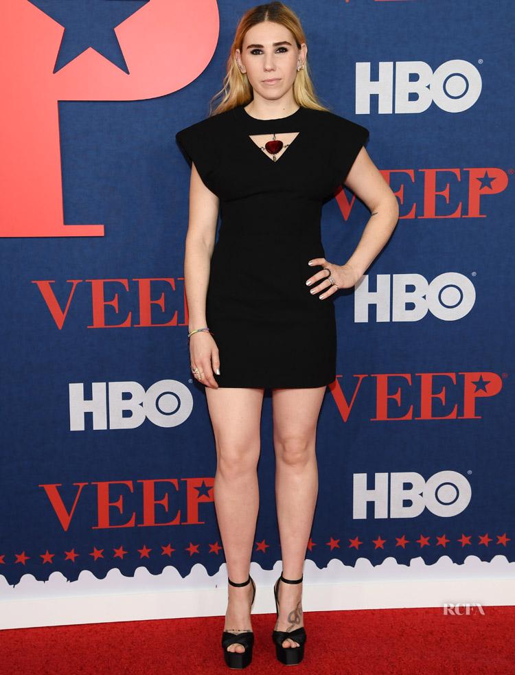 Zosia Mamet Has A Mini Moment At The 'Veep' Season 7 Premiere