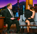 Kate Beckinsale In Greta Constantine - The Late Late Show with James Corden