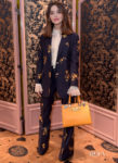 Jenna Coleman Is Well Suited For The Gucci Zumi Bag