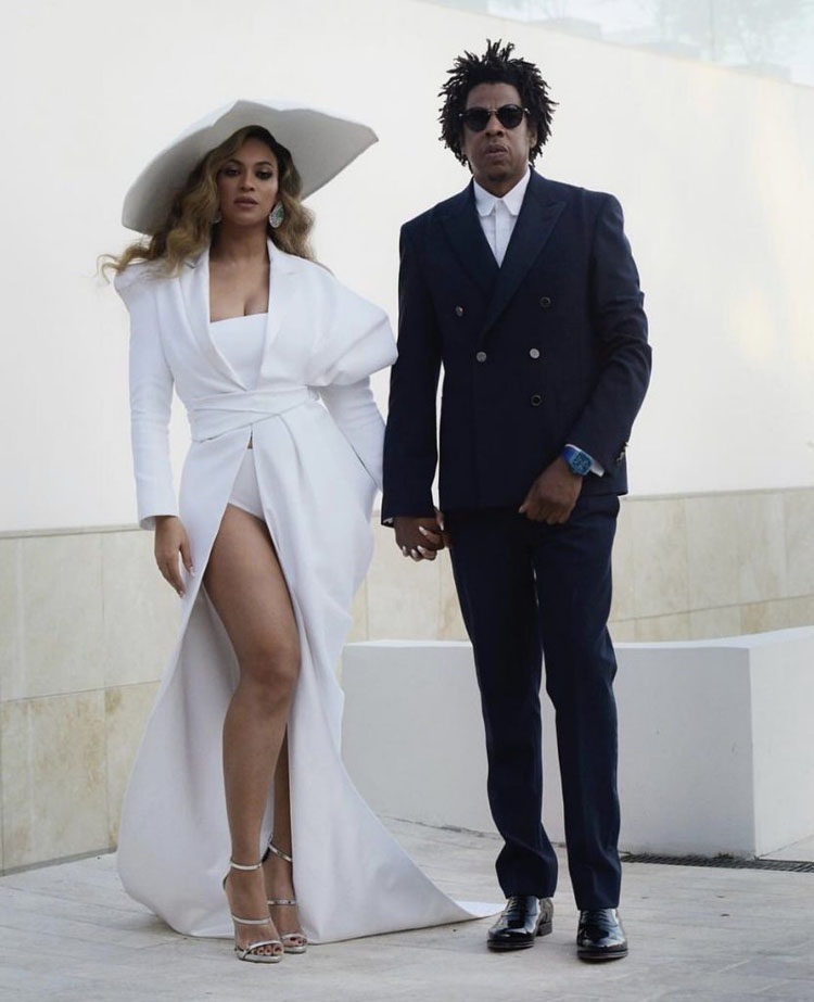 Beyonce Knowles Is The 2019 NAACP Image Awards Entertainer Of The Year in Balmain Couture