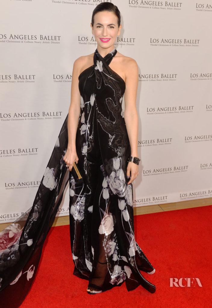 Camilla Belle in Ralph Lauren - The Los Angeles Ballet's Gala