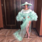 Cardi B's Weekend of Feathers, Fur & Large Hats