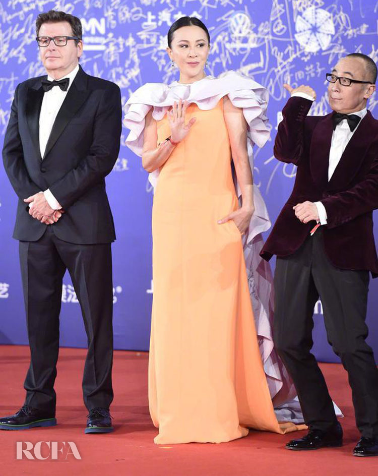 Carina Lau Stuns At The Beijing International Film Festival in Valentino Haute Coutur