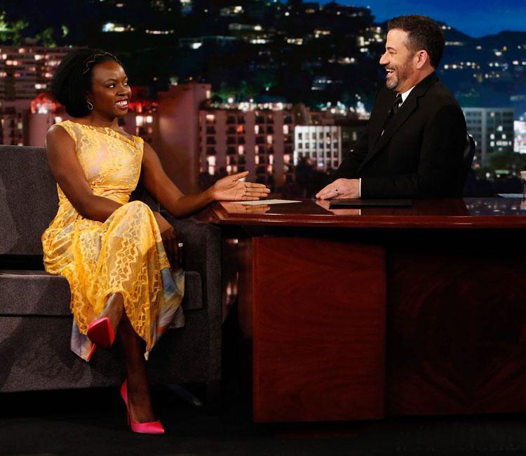 Danai Gurira Sies Marjan  Jimmy Kimmel Live!