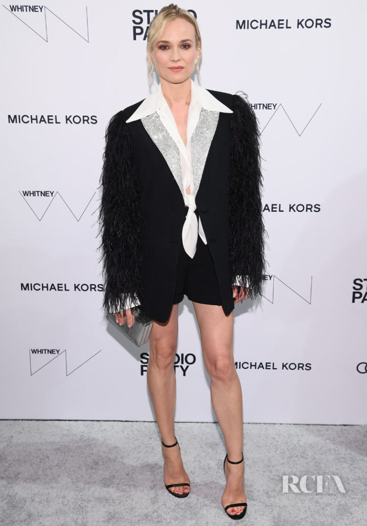Diane Kruger In Michael Kors Collection - Whitney Museum Of American Art Gala + Studio Party