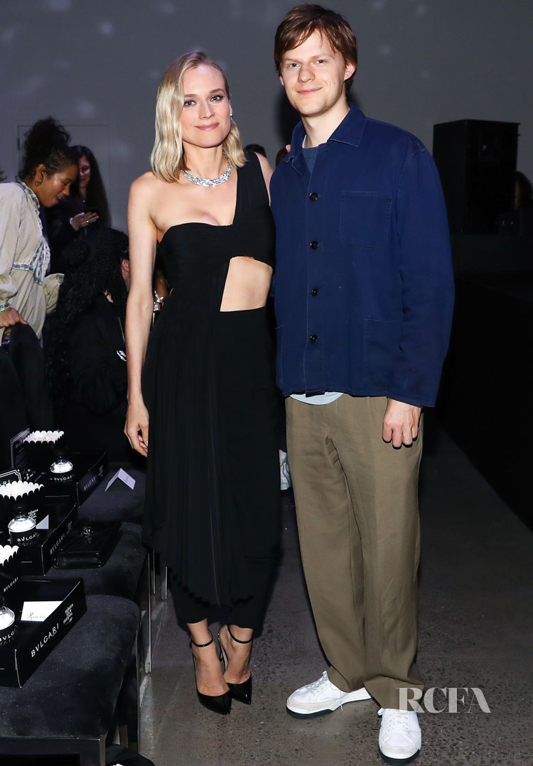 Diane Kruger Rocks A.L.C. To The BVLGARI x Vanity Fair Film Premiere