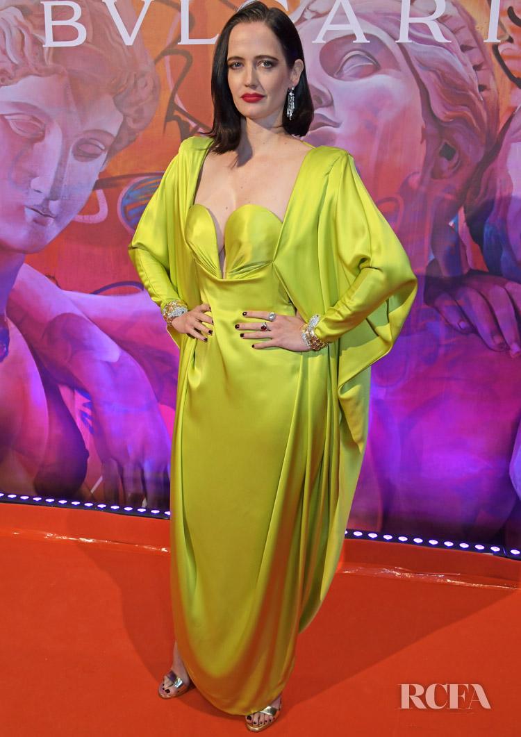 Eva Green Helps Bvlgari Celebrate The WILD POP High Jewellery Collection