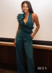 Gabrielle Union Rocks A Ruffled Jumpsuit For The  'L.A.'s Finest' Press Conference