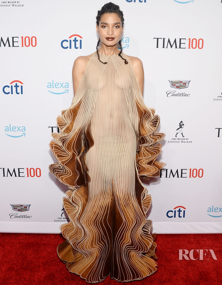 Indya Moore Strikes A Pose At The TIME 100 Gala