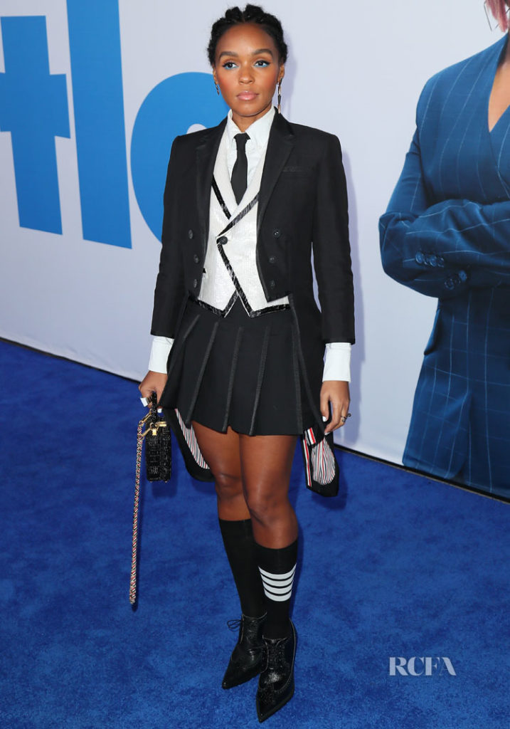 Janelle Monae In Thom Browne - 'Little' LA Premiere