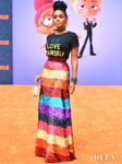 Janelle Monáe Brings A Rainbow To The 'UglyDolls' LA Premiere