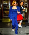 Jessica Chastain Earns Her Stripes On The Today Show