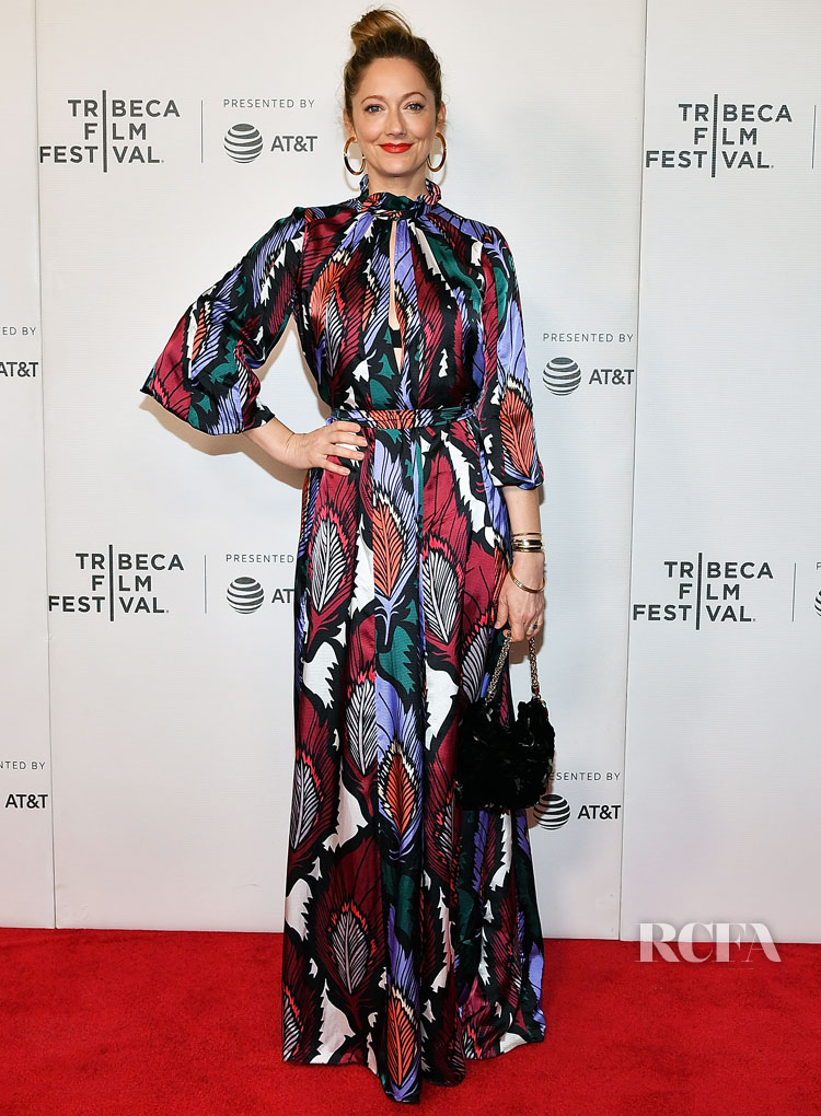 Judy Greer In Carolina - 'Buffaloed' Tribeca Film Festival Premiere