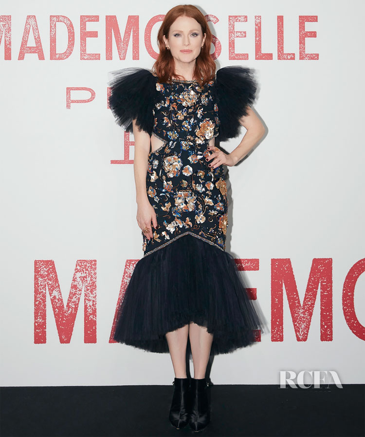 Julianne Moore Attends The Chanel Mademoiselle Privé Exhibition