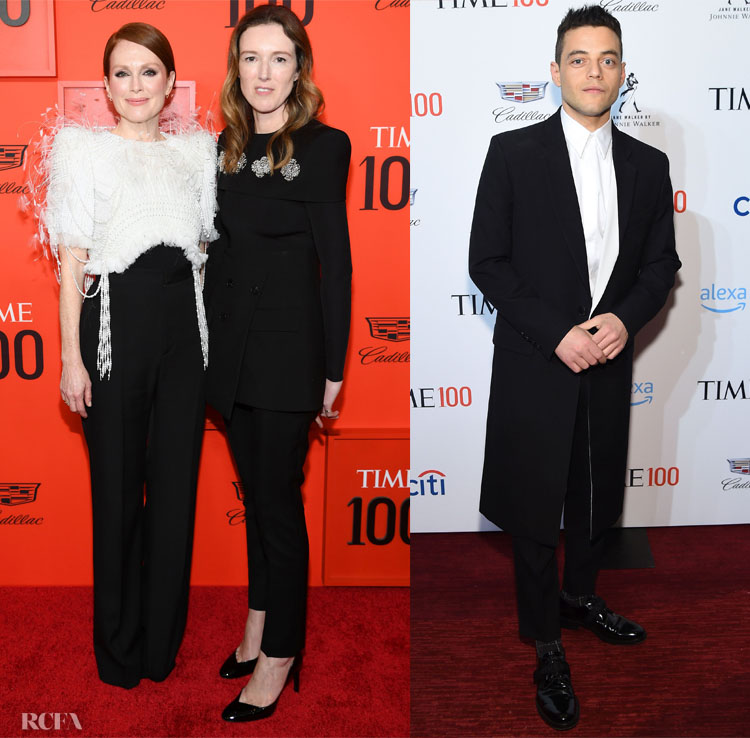 Julianne Moore, Rami Malek, Clare Waight Keller Represent Givenchy At The TIME 100 Gala