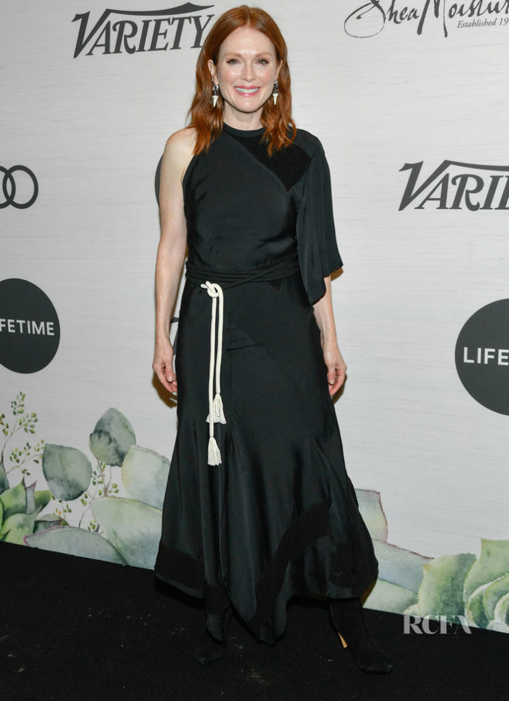 Julianne Moore Was In Boho Mode For Variety's Power Of Women: New York  Chloe