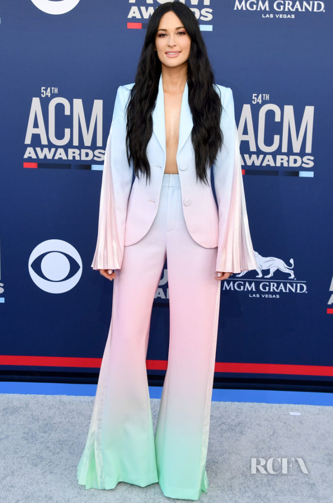 Kacey Musgraves In Christian Cowan x Powerpuff - ACM Awards 2019