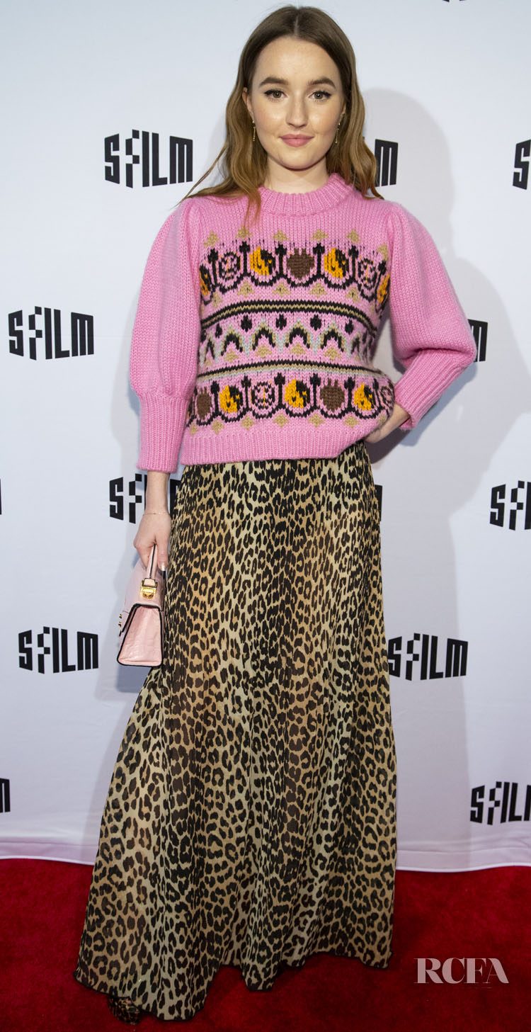 Kaitlyn Dever Mixes Prints For The 'Booksmart' San Francisco International Film Festival Premiere