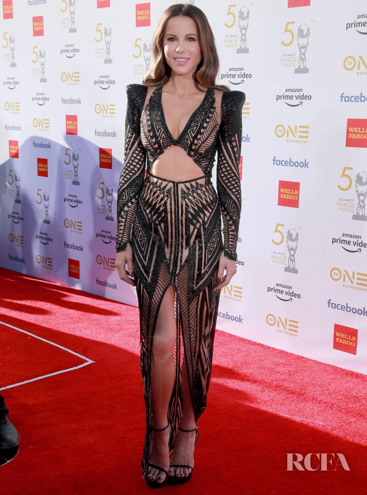 Kate Beckinsale In Julien MacDonald - 2019 NAACP Image Awards