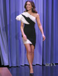 Kate Beckinsale Dons Georges Chakra Couture For The Tonight Show