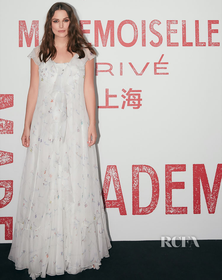 Keira Knightley Attends The Chanel Mademoiselle Privé Exhibition