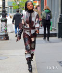 Keke Palmer's Post-Apocalyptic Jumpsuit