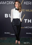 Keri Russell Borrows From The Boys For 'Burn This' Opening Night