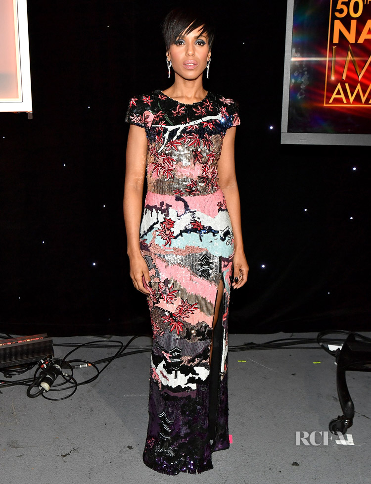 Kerry Washington In Zuhair Murad 2019 Naacp Image Awards