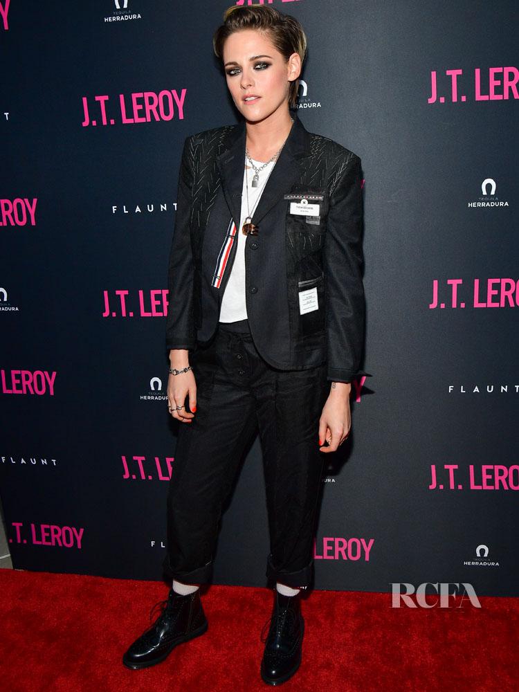 Kristen Stewart in Thom Browne - 'J.T. Leroy' LA Premiere
