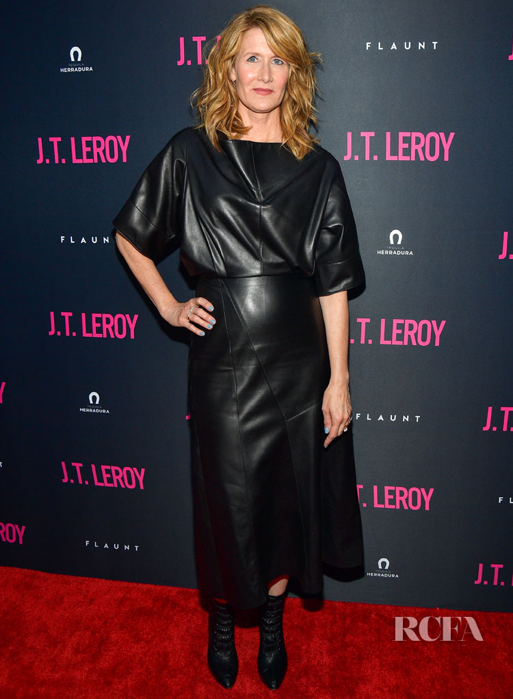 Lauren Dern Wears Derek Lam For The 'J.T. Leroy' LA Premiere