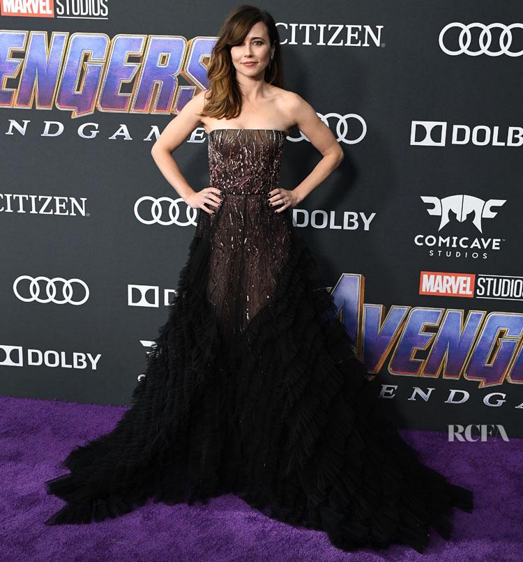 Linda Cardellini In J Mendel 'Avengers Endgame' LA Premiere