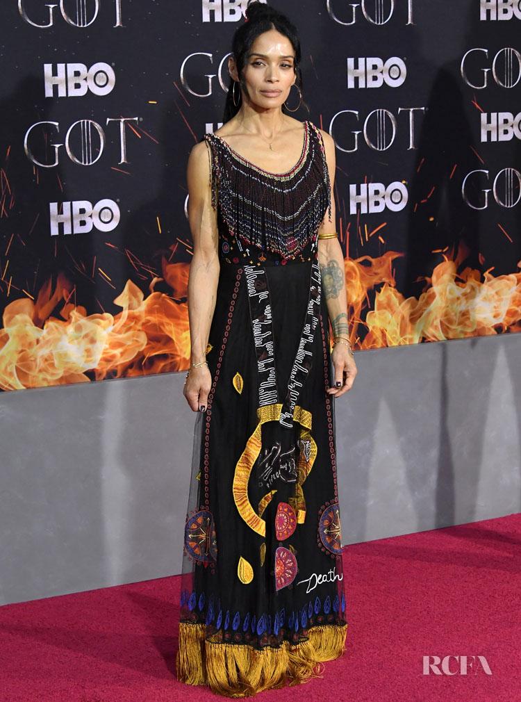 Lisa Bonet In Christian Dior - 'Game Of Thrones' Season 8 New York Premiere