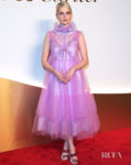 Lucy Boynton Is Tickled Pink In Her Layered Dress For Clash de Cartier