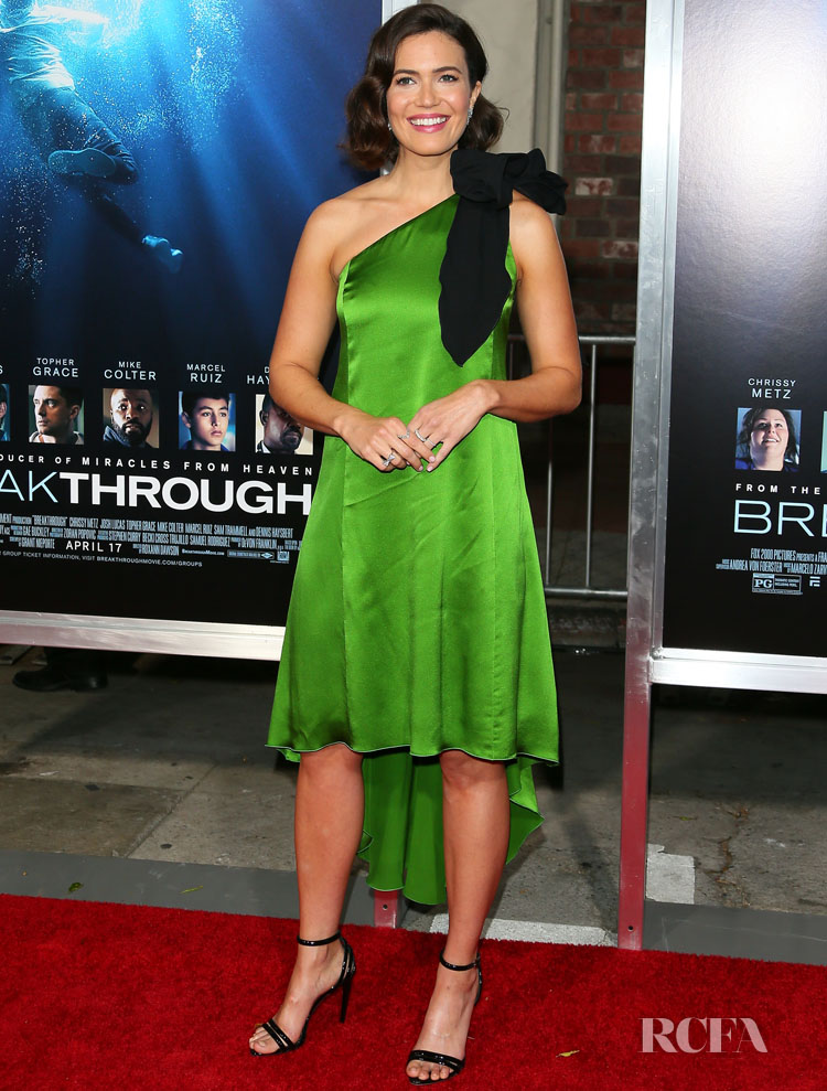 Mandy Moore Supports 'Breakthrough'  in Andrew Gn