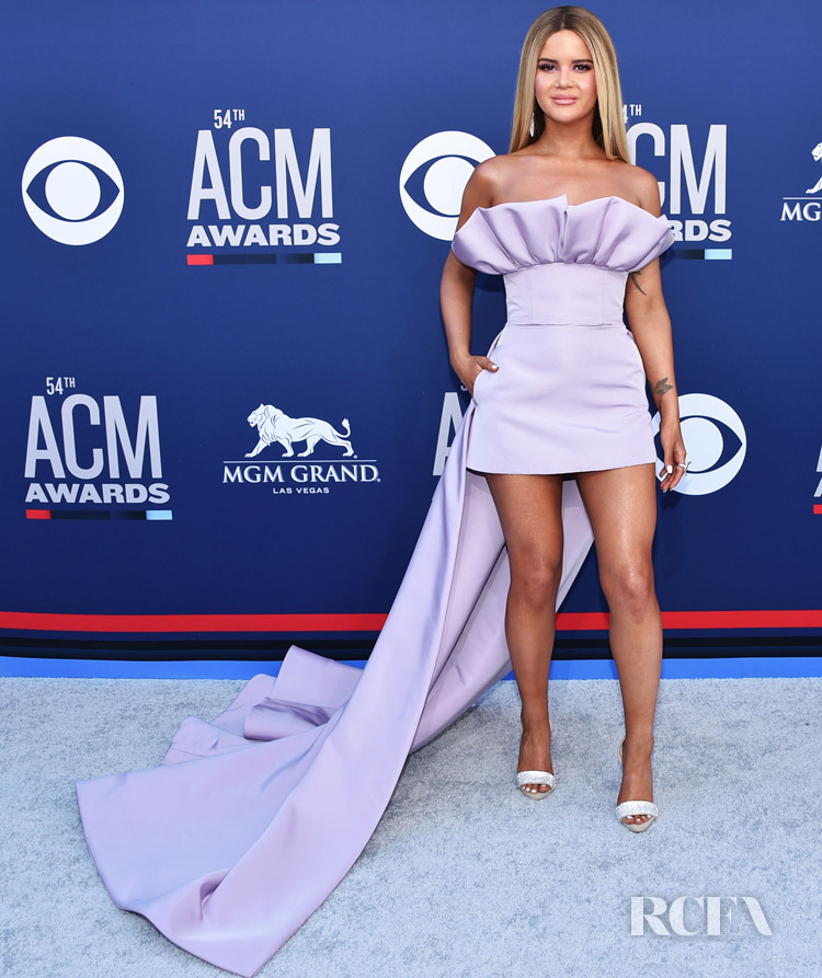 Maren Morris In Christian Siriano - 2019 ACM Awards