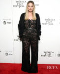 Margot Robbie's Lace Jumpsuit For The 'Dreamland' Tribeca Film Festival Screening