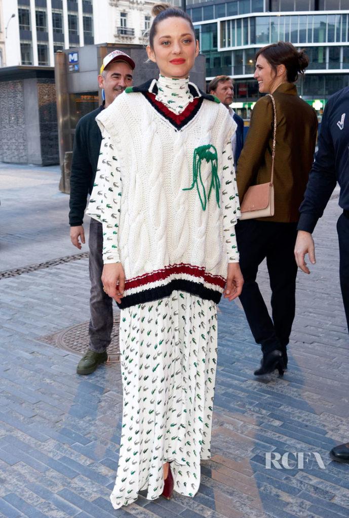 Marion Cotillard In Lacoste 'Nous finirons Ensemble' Brussels Premiere.jpg
