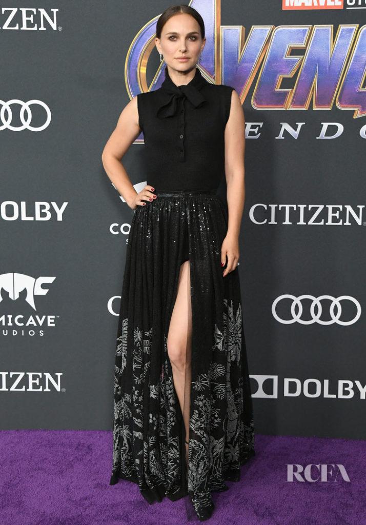 Natalie Portman Don Dior For 'Avengers: Endgame' LA Premiere