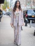 Olivia Munn's '70s Glamour For Apex Gala