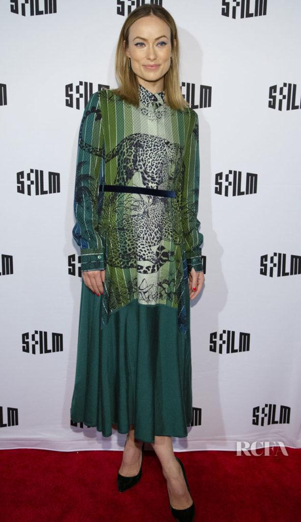 Olivia Wilde In Hermes - 2019 San Francisco International Film Festival